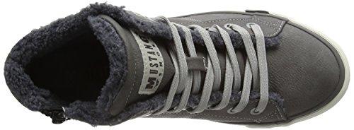 Mustang 1146-601-2, Zapatillas Altas Para Mujer, Gris (2 Grau), 40 EU