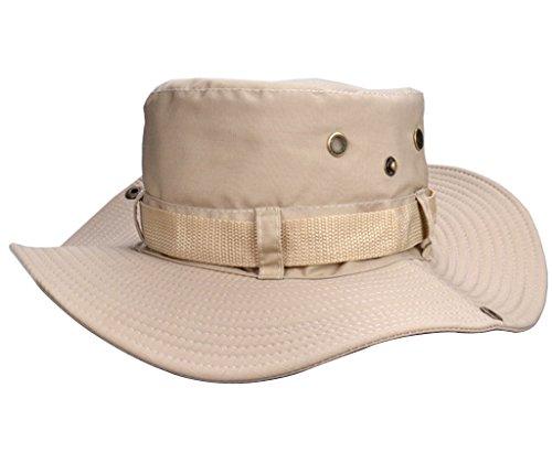 Beileer Élégant chapeau de soleil avec protection UV pour l'extérieur, la pêche, le camping, le cyclisme, la chasse, le… 1