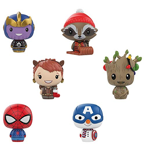 Funko Pint Size Hero: Marvel Holiday - One Mystery Collectible Figure, ()