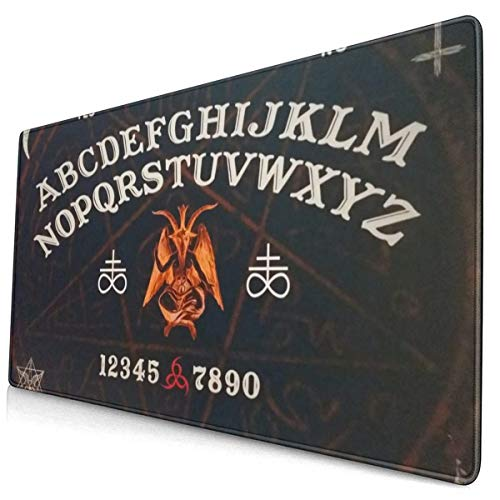 Ouija Board Augury Witch Mouse Pad Mousepad Non-Slip Rubber Base Gaming Rectangle Mouse Mat Mouse Pads for Laptop Computers PC Keyboard