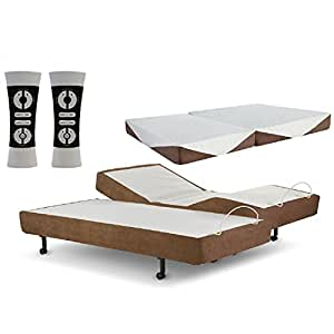Amazon Com Zero Gravity G Force Split King Adjustable Bed