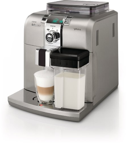 Saeco HD8838/47 Stainless Steel Syntia Cappuccino Machine