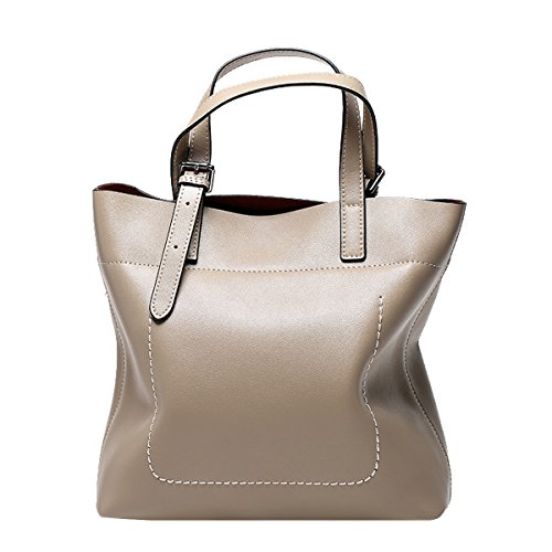 Leather Patent Women's Khaki Valin Bag Medium Tote H6wPAUq