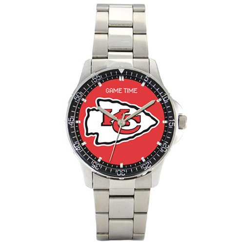 NFL Men's FC-KC Kansas City Chiefs Coach Series Watch by Game Time