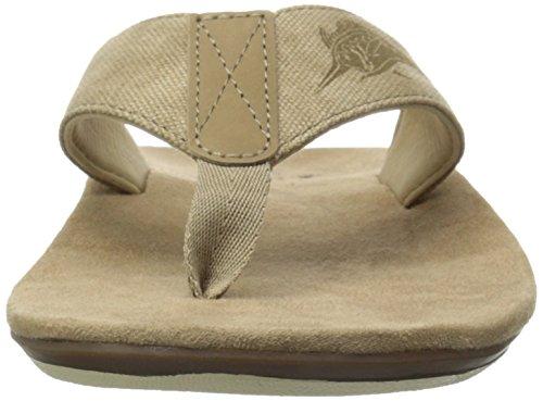 129c08d247aa durable modeling Margaritaville Men s Marlin Canvas Flip Flop ...
