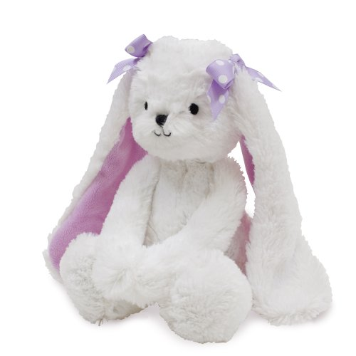 (Bedtime Originals Wood Plush Bunny Sasha, Lavender)