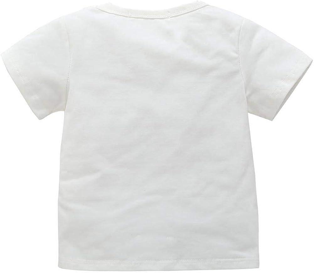 Gro/ße Schwester Gedruckt T Shirt Wei/ß Kleidung f/ür 0-7 Jahre Blaward Baby Kleidung Tops Kleine Schwester Strampler