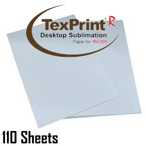 Papel de Transferencia de sublimación texprint-r 8,5 x 11 Papel de ...