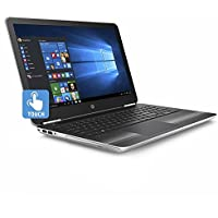 HP Pavilion 15.6-Inch HD Touchscreen Flagship Gaming Laptop PC, Intel i7-6500U Dual Core Processor 12GB DDR4 1TB HDD NVIDIA GeForce 940MX Backlit Keyboard DVD/CD WIFI Bluetooth Win10-Silver