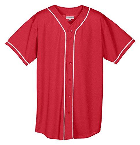 Red Baseball Jersey - 6