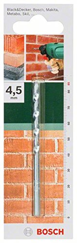 Bosch 2609255421 85mm Masonry Drill Bit with Diameter 4.5mm Robert Bosch