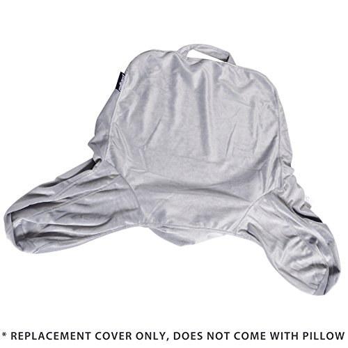 Milliard Reading Pillow Replacement Cover 18x15 - fulfils The 18 Inch & Linenspa Standard Size Reading Pillows (Pillow NOT Included)