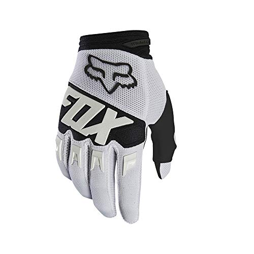 2019 Fox Racing Youth Dirtpaw Race Gloves-White-YL