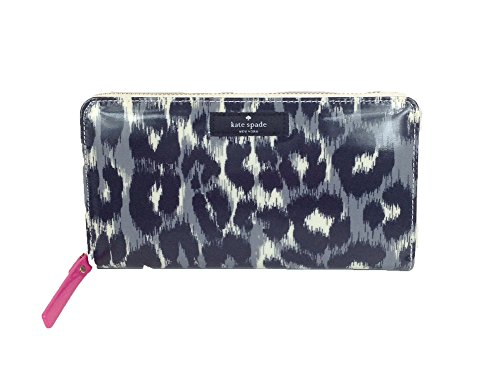 Kate Spade New York Daycation Neda Continental Zip Wallet, Leopard