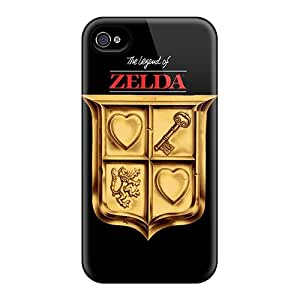 Apple Iphone 4/4s Ume4638xcUK Customized Attractive The Legend Of Zelda Pattern Bumper Cell-phone Hard Covers -IanJoeyPatricia