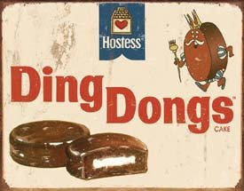 y Hostess Ding Dongs! Cute Vintage Replica Tin Sign, Perfect for Your Bakery, Biner or Home 18