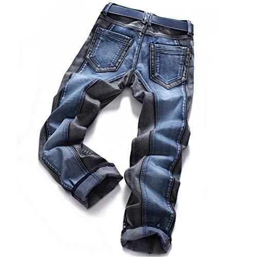 Pantaloni Da Elastica Wanlianer Slim Fit Eu Uomo Forza In Strappati dimensione 36 Skinny Jeans Denim Distrutti Fq5c5dw7