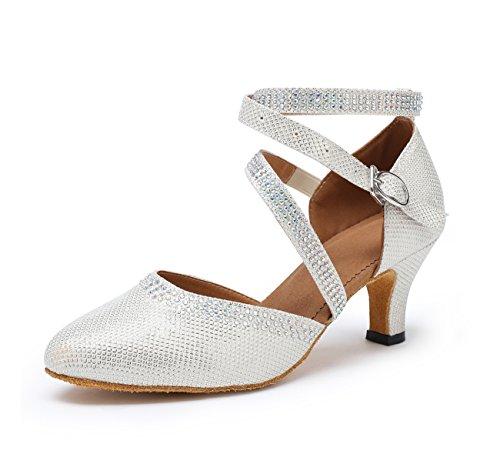 Miyoopark - salón mujer Silver-6cm Heel