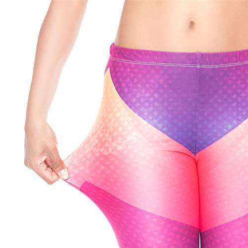 Lybtrouser alta donna qualit da di yoga da leggings Pantaloni B0xqBAT