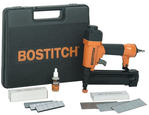 Bostitch Pneumatic Nailers - BOSTITCH SB-2IN1 2-In-1 Narrow Crown Stapler/18-gauge Brad Nailer