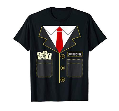 Train Conductor Halloween Costume T-Shirt Locomotives -