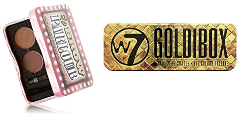 W7 Holiday Kit: Goldibox and the 12 Shades Eye Colour Palett