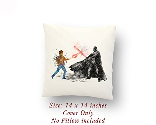 Star Wars Harry Potter vs Darth Vader 14 x 14 inches Pillow -