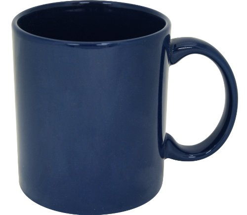 Plain Coffee Mug-- Blue -- High Quality Ceramic Mug!! (11oz, (Plain Coffee Mug)