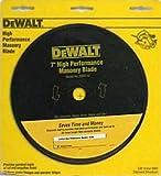 DEWALT DW4712 High Performance 7-Inch Dry/Wet Cutting Continuous Rim Diamond Saw Blade