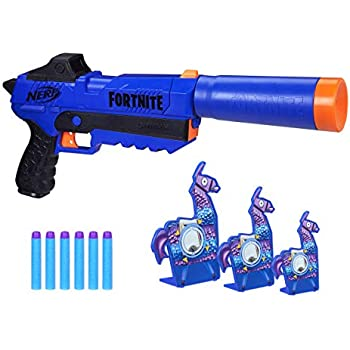 Amazon.com: NERF Fortnite AR-L Elite Dart Blaster: Toys & Games