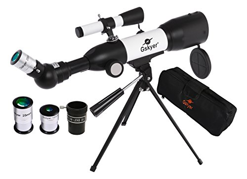 Gskyer Telescope, AZ50350 German Technology Telescope, Travel Refractor Telescope for Kids
