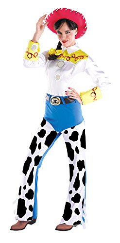 Adult-Costume Jessie Deluxe Adult Lg 12-14 Halloween (Jessie Costume For Adults)