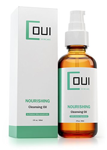 Nourishing Facial Cleansing Oil by COUI Skincare with 100% Active Ingredients and Natural Oils - Cleanse Your Skin While Protecting your Face and Eye Area (Md Forte Facial Cleanser 1)