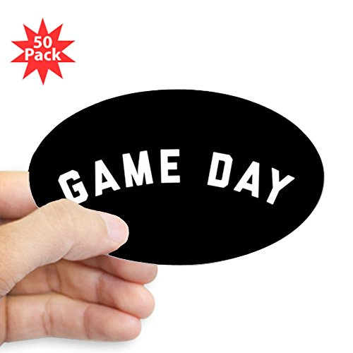 CafePress - Game Day - Sticker (Oval 50 pk) by CafePress