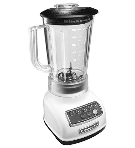 KitchenAid 5-Speed Blender RRKSB1570WH, 56-Ounce, White (Renewed) ()