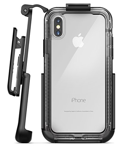 Encased Belt Clip Holster for Lifeproof Next Case – Apple iPhone X (case not included)