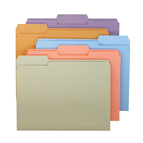 smead-1-3-cut-file-folders-letter-size-pastel-assorted-colors-100-per-box-11953