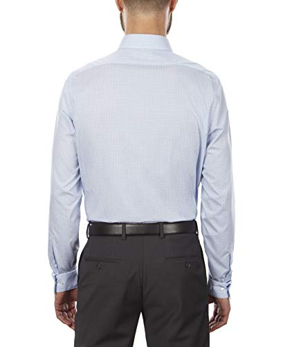 Calvin Klein Men's Dress Shirt Non Iron Stretch Slim Fit Check 3