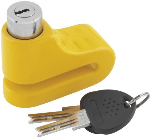 Bully 5.5mm Yellow Disc Lock 1581S-YLW ()