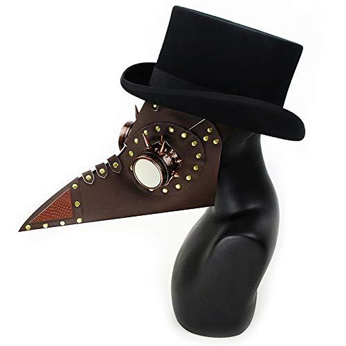 KTYX Steampunk Plague Beak Mask Halloween Props Gift mask ()