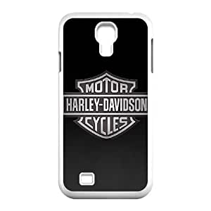 Samsung Galaxy S4 9500 Cell Phone Case White Harley Davidson LHN Custom Cell Phone Case For Men