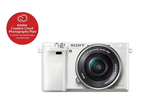 Sony Alpha a6000 Mirrorless Digital Camera with 16-50 mm Len