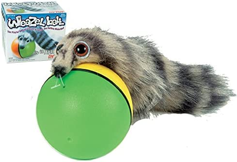 D.Y The Weasel Rolls with Ball TOY Weazel Ball