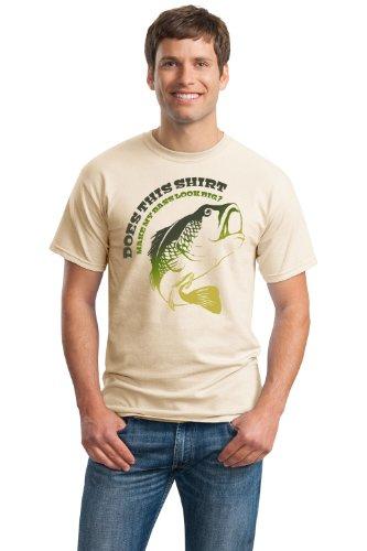 DOES THIS SHIRT MAKE MY BASS LOOK BIG? Unisex T-shirt / Funny Fishing Joke