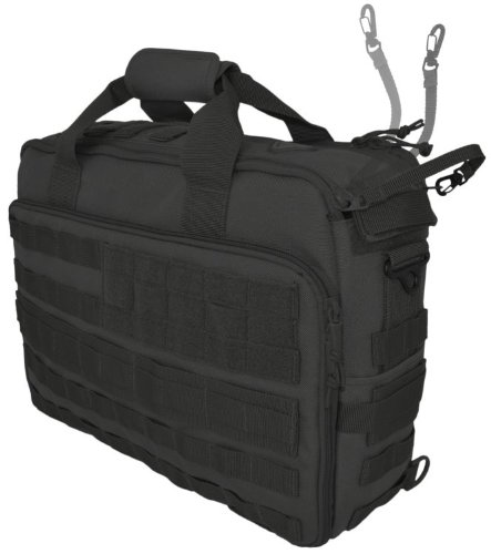 Hazard 4 Ditch Laptop Soft Briefcase/Go Bag with Molle, Black