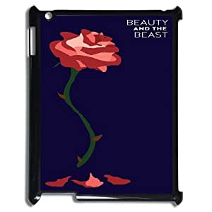 [H-DIY CASE] For Ipad 2/3/4 Case -Beauty And The Beast-CASE-5