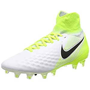Nike Youth Magista Obra II FG Cleats [White] (4.5Y)
