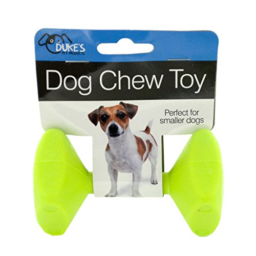 Barbell Dog Chew Toy
