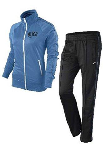 Nike NIKE Trainingsanzug Classic Poly Warm Up Damen Women Jogginganzug blau -428 in Gr. L - Jacken Sommerjacken