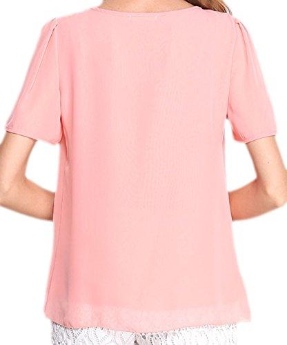 erdbeerloft - Camiseta - Opaco - para mujer Rosa